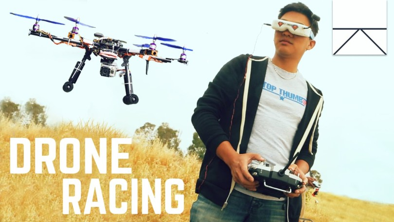 Corrida de Drones