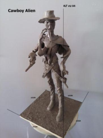 a3c58 artebr - Shopping D sedia exposição de esculturas usadas em efeitos visuais