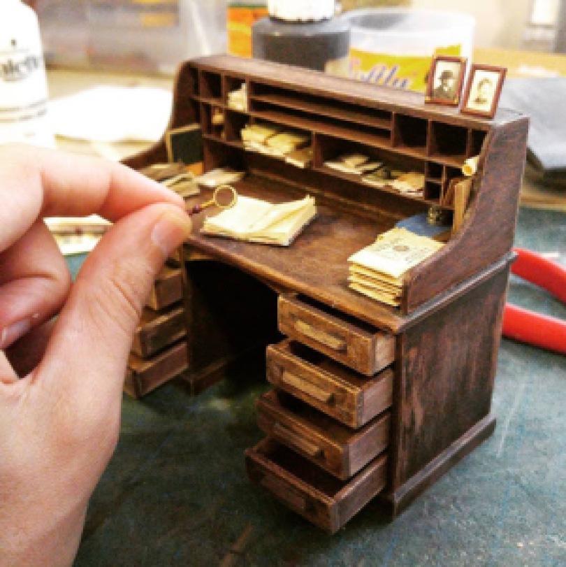 art2 - O mini estúdio de um artista