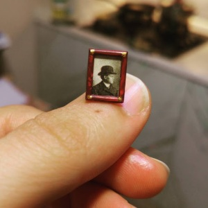 Fotos, Curiosidades, Comunicação, Jornalismo, Marketing, Propaganda, Mídia Interessante art31 O mini estúdio de um artista Fotos e fatos Invenções e Inovações